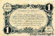 1 franc - Chambre de commerce d'Angoulème [16] <5ème série> – reverse