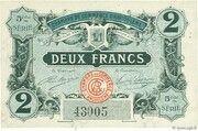 2 francs - Chambre de Commerce d'Angoulême [16] <5ème série> – obverse