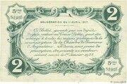 2 francs - Chambre de Commerce d'Angoulême [16] <5ème série> – reverse