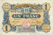 1 franc - Chambre de commerce d'Angoulème [16] <6ème série> – obverse