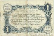 1 franc - Chambre de commerce d'Angoulème [16] <6ème série> – reverse