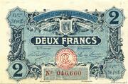 2 francs - Chambre de Commerce d'Angoulême [16] <6ème série> – obverse