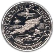 1 Dollar - Elizabeth II (Anguilla Island) – obverse