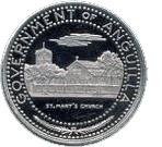 ½ Dollar - Elizabeth II (St.Mary's Church) – obverse