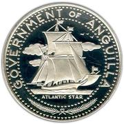 4 Dollars - Elizabeth II (Ship - Atlantic Star) – obverse