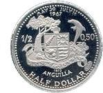 ½ Dollar - Elizabeth II (St.Mary's Church) – reverse