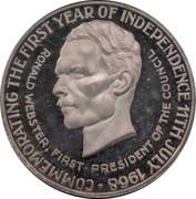 25 Dollars - Elizabeth II (Independence) -  reverse
