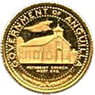 5 Dollars - Elizabeth II (Methodist Church) – obverse