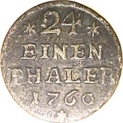 1/24 Thaler - Viktor II Friedrich – reverse