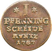 1 Pfenning - Viktor Friedrich – reverse