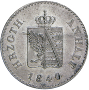 6 Pfennig - Alexander Carl -  obverse