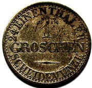 1 Groschen - Alexander Carl (Joint Coinage) – reverse