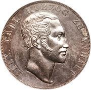 2 Thaler / 3½ Gulden - Alexander Carl -  obverse