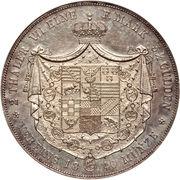 2 Thaler / 3½ Gulden - Alexander Carl -  reverse