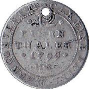 1/12 Thaler - Alexius Friedrich Christian -  obverse