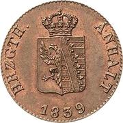 1 Pfennig - Carl Alexander -  obverse