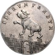 ⅔ Thaler - Viktor II Friedrich – reverse