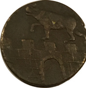 1 Pfennig - Alexius Friedrich Christian – obverse