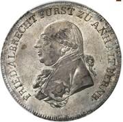 1 Thaler - Friedrich August – obverse