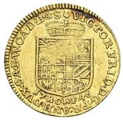 1 Ducat - Viktor II Friedrich – obverse