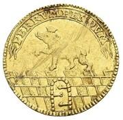 1 Ducat - Viktor II Friedrich – reverse