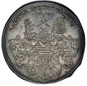 1 Thaler - Christian II – reverse