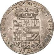 1 Thaler - Viktor II Friedrich – reverse