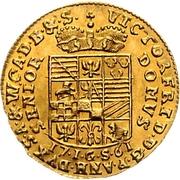1 Ducat - Viktor Friedrich II – reverse