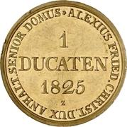 1 Ducat - Alexius Friedrich Christian (Ausbeute Harzgold-Dukat) -  obverse