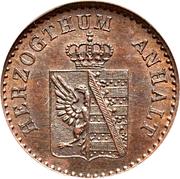 1 Pfennig - Alexander Carl -  obverse