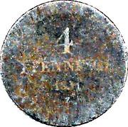 4 Pfennige - Alexius Friedrich Christian – reverse
