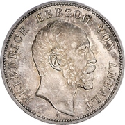 5 Mark - Friedrich I (Silver Jubilee) – obverse