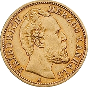 20 Mark - Friedrich I – obverse