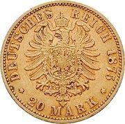 20 Mark - Friedrich I -  reverse