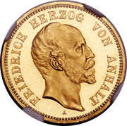 20 Mark - Friedrich I. – obverse