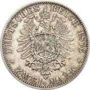 2 Mark - Friedrich I. – reverse