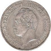 ⅙ Thaler - Leopold Friedrich – obverse