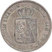 ⅙ Thaler - Leopold Friedrich – reverse