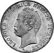 1 Vereinsthaler - Leopold Friedrich – obverse
