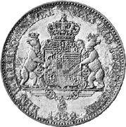 1 Vereinsthaler - Leopold Friedrich – reverse
