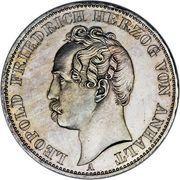 1 Thaler - Leopold Friedrich – obverse