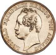 1 Vereinsthaler - Leopold Friedrich -  obverse