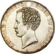 2 Thaler / 3½ Gulden - Leopold Friedrich – obverse
