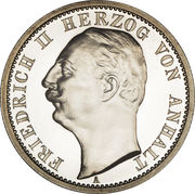 2 Mark - Friedrich II. – obverse