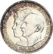 3 Mark - Friedrich II. (Silver Wedding) – obverse