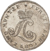 1/12 Thaler - August Ludwig – obverse