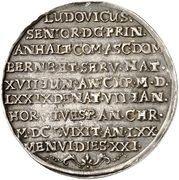 ½ Thaler - Ludwig (Death) – reverse