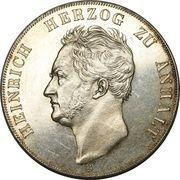 2 Thaler / 3½ Gulden - Heinrich – obverse