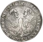 1 Thaler -  Joachim Ernst and Bernhard – obverse