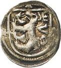 1 Pfennig - Woldemar VI., Ernst, Rudolf, Sigmung III. and Georg II. – obverse